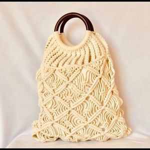 Handbags - The IT bag of the season! Boho Chic Crocheted Tote